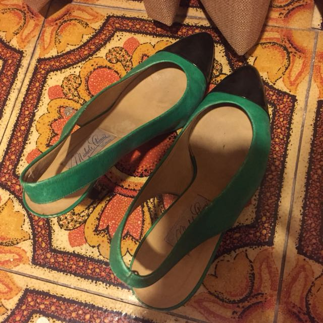 Michelle Chini Bologna Heels Size 37 setengah MADE IN ITALY