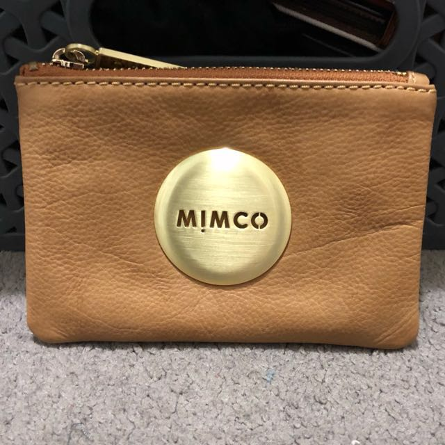 Mimco small pouch (honey)