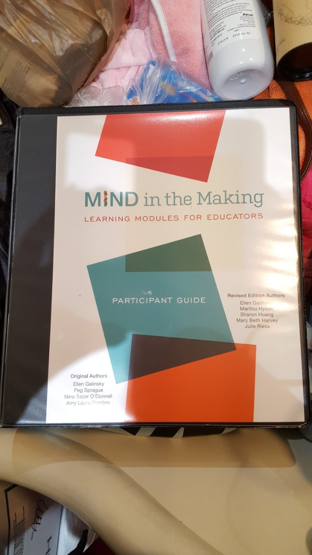 Mind in the making: learning modules for educators
