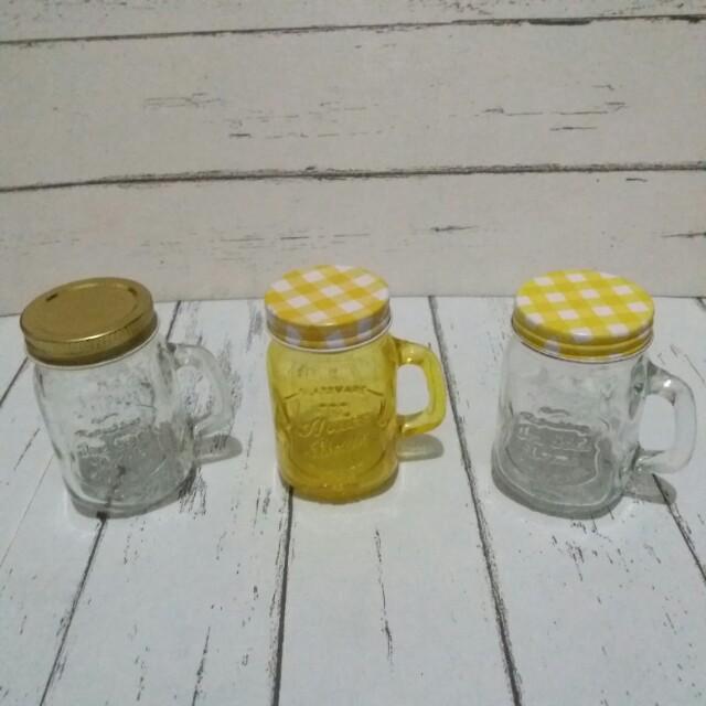 Mini Mason Jars Set