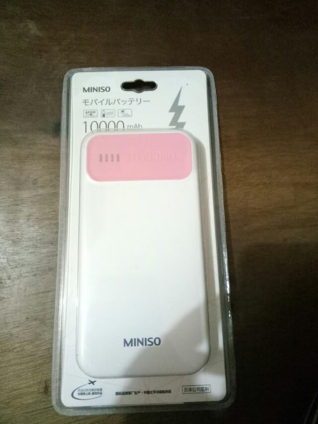 Miniso powerbank 10000mah