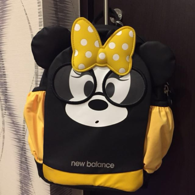 Minnie mouse new balance backpack