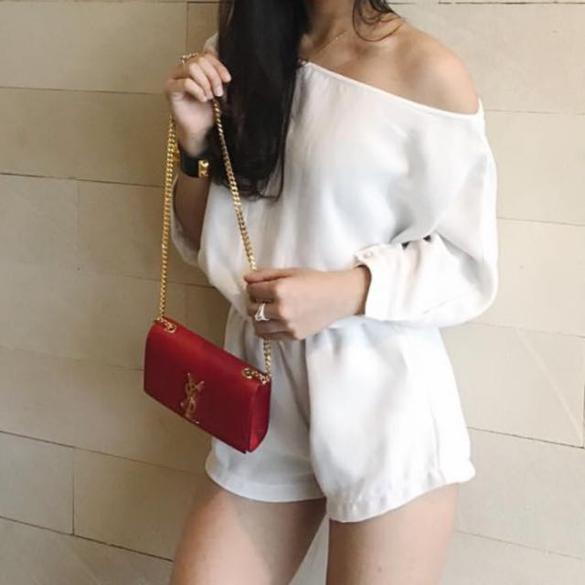 Modelano White Jumpsuit
