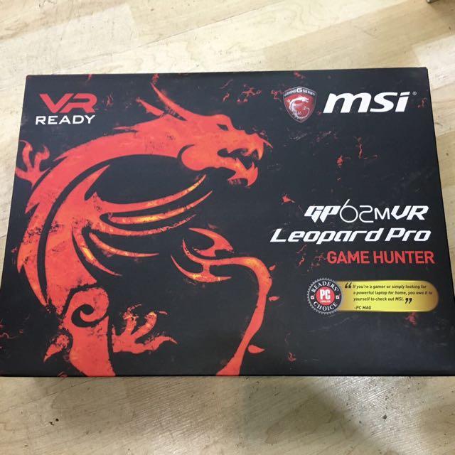 MSI GP62MVR I7-i7-7700hq GTX1060 Sealed In Box !!!