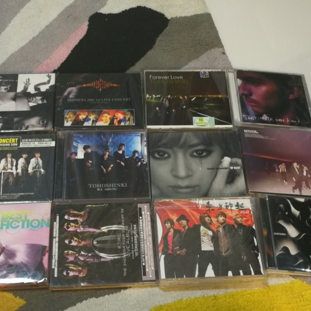 Music CDs korean Japanese album
