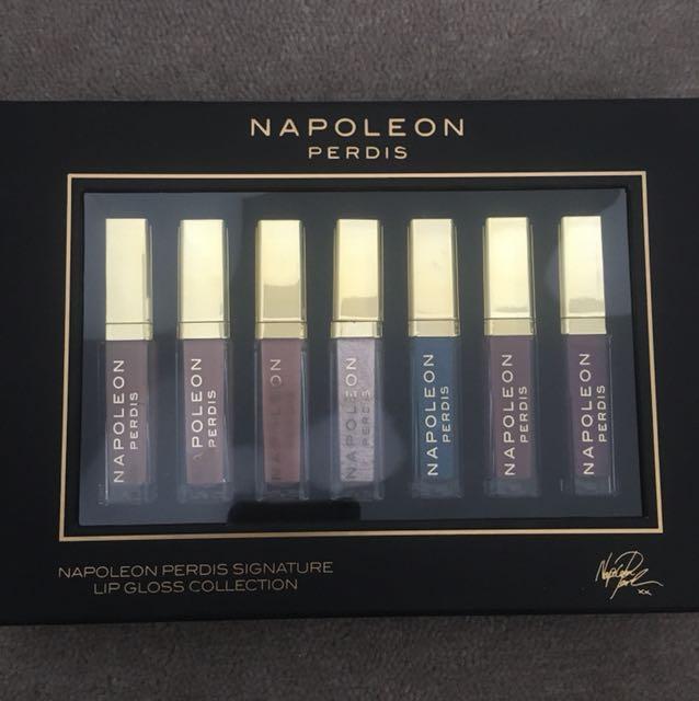 Napoleon Perdis signature lip gloss collection