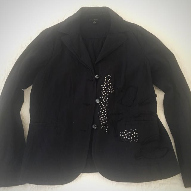 Navy Verge Blazer, size medium