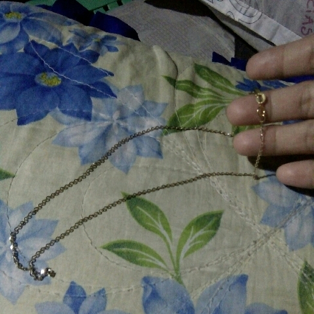 Necklace white gold