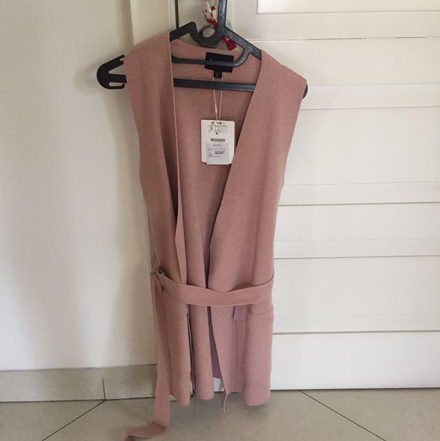 NEW - Stradivarius pink vest