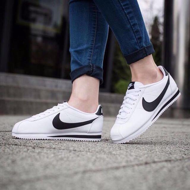 日本代購-Nike白底黑勾勾阿甘鞋(預購)