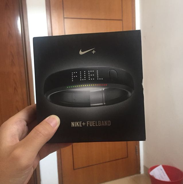 Nike + Fuelband Black Steel