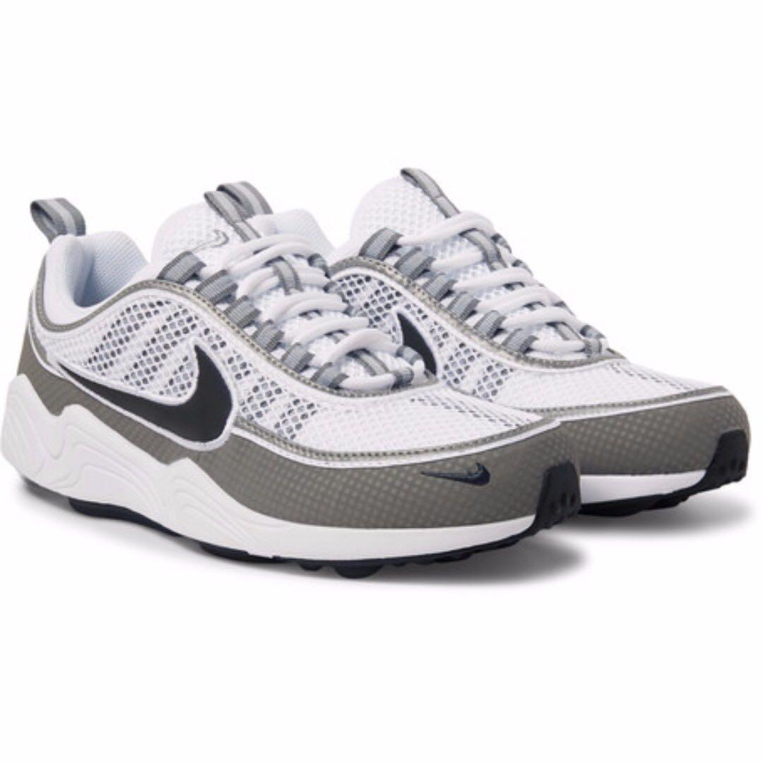 63ad2fc3eeb1 NIKE Air Zoom Spiridon Rubber-Panelled Mesh Sneakers