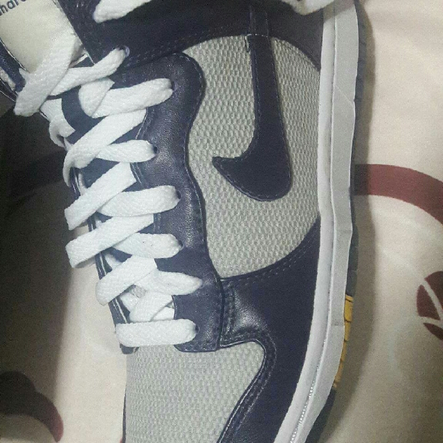 nike rubber shoes.