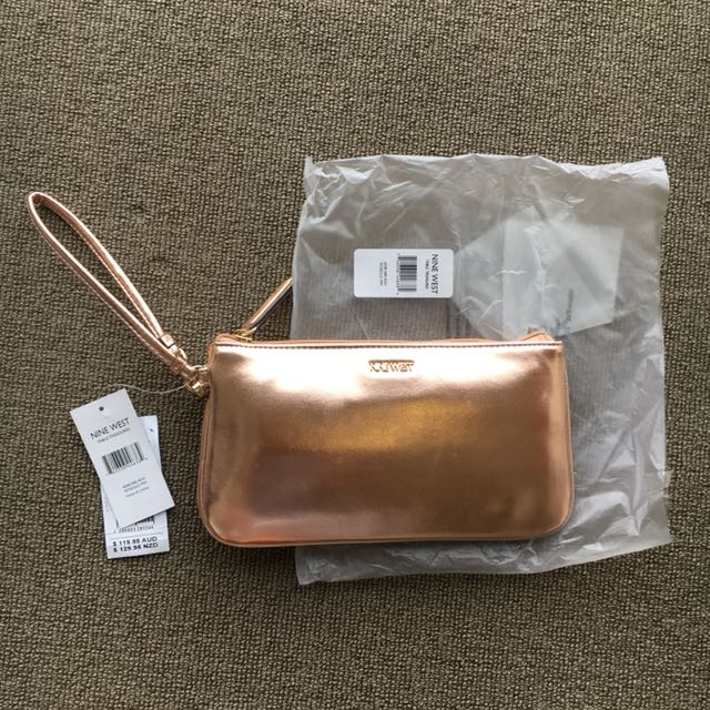 Nine West Rose Gold Pouch