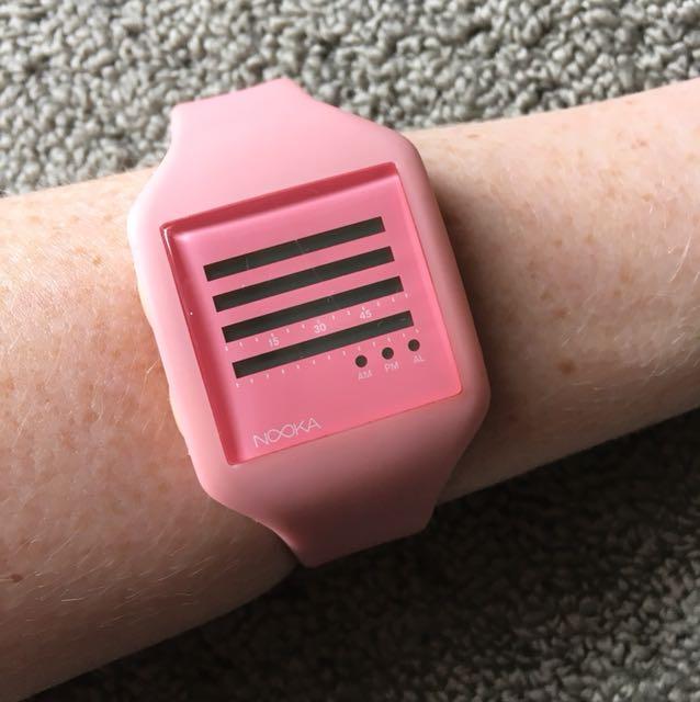 Nooka Pink Watch