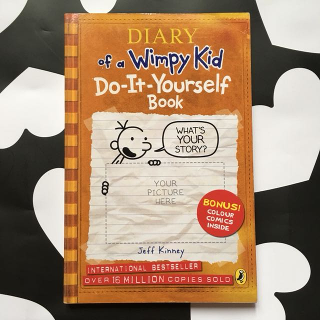 Novel diy diary of a wimpy kid books stationery books on carousell photo photo photo solutioingenieria Images