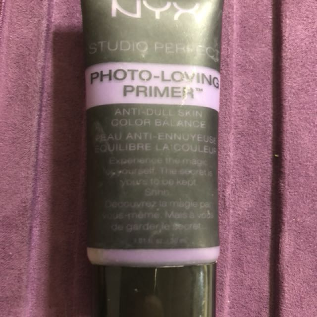 NYX studio perfect photo loving primer