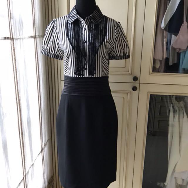 Office dress monocrome