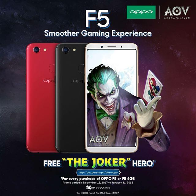 Oppo F5 Gaming Phone on Carousell