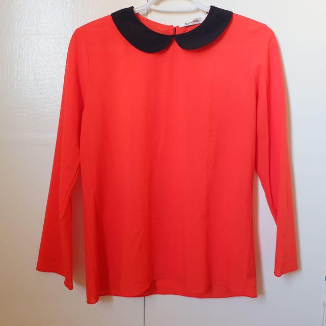 Orange Long Sleeves