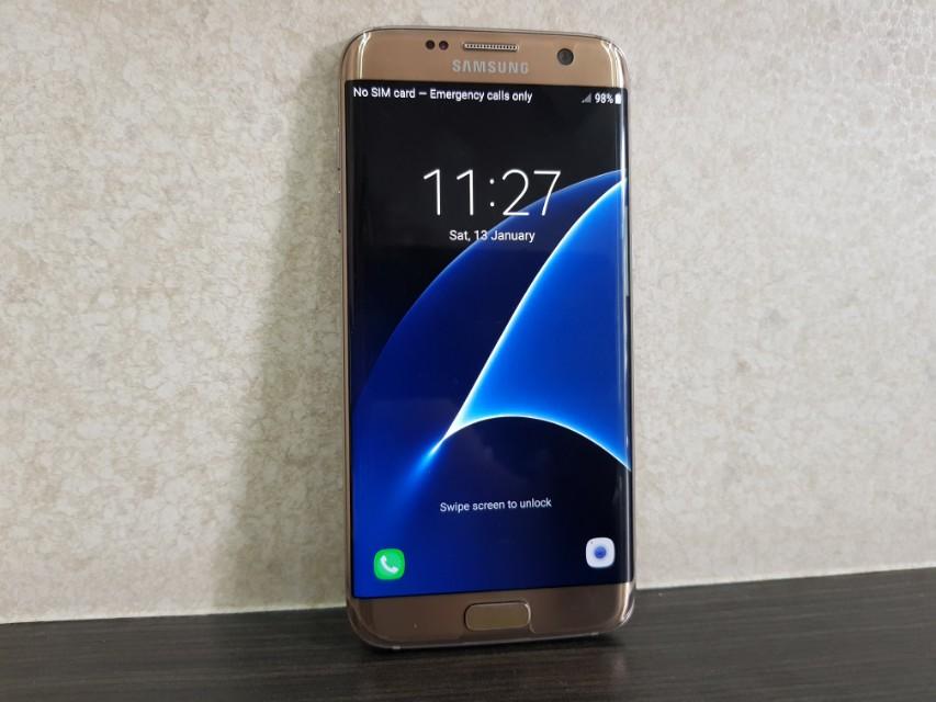 Ori Samsung Galaxy S7 edge Gold Edition SME unit