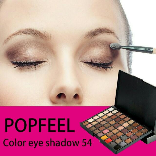 Popfeel 54 color eyeshadow