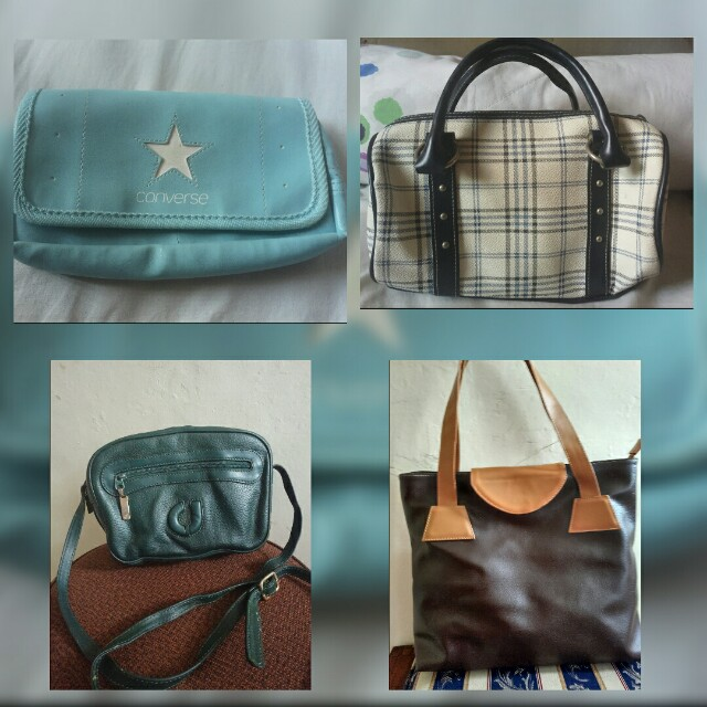 preloved bag and clutch