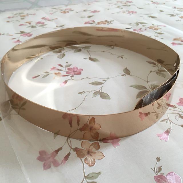 Preloved Gold Metal Hardware Belt