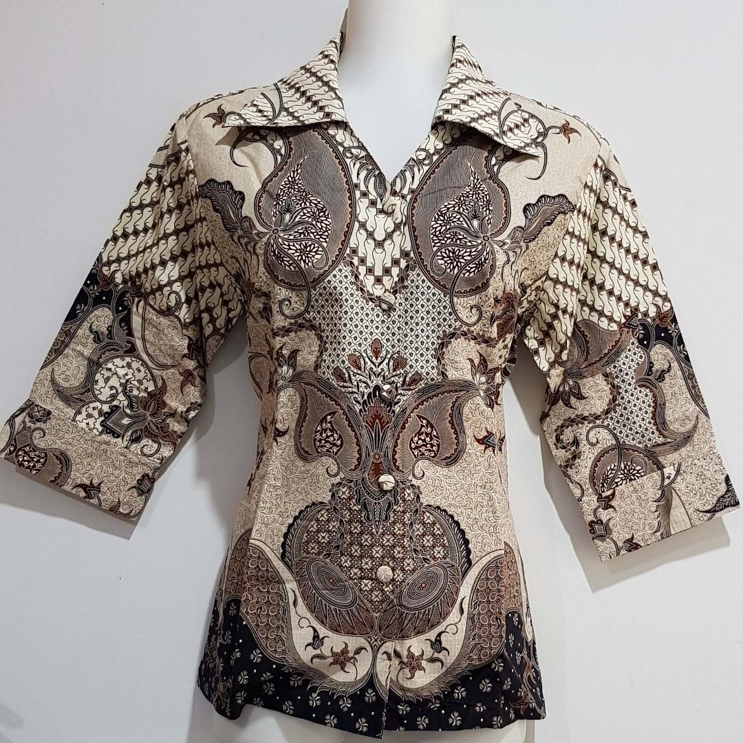 PRELOVED/SECOND - kemeja Batik