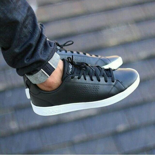 PROMO TERMURAH!!! Sepatu Kets Adidas Neo Advantage Black Hitam ... 4042ef2ed8