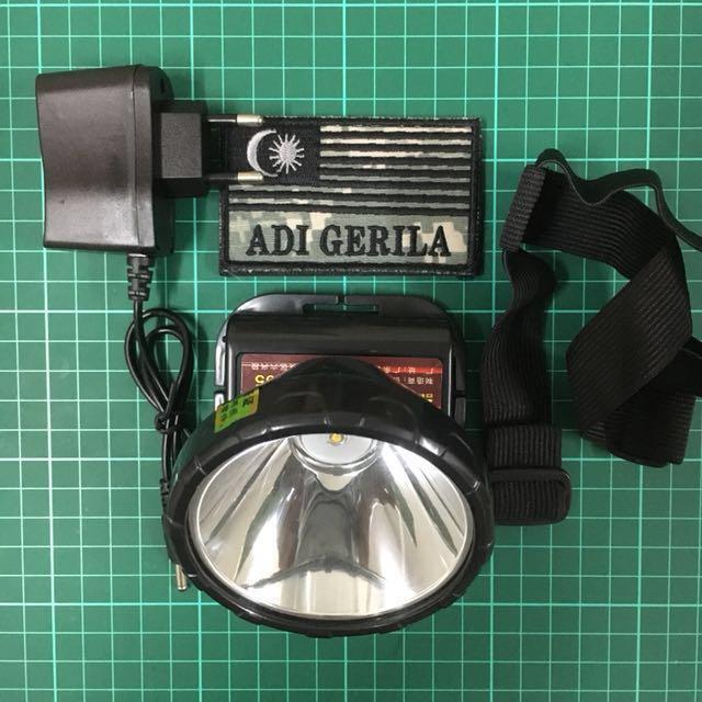 Rechargeable Thrower Light Headlamp