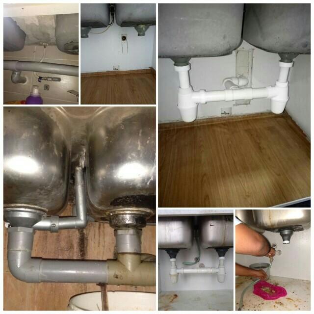Repair Sinki Tersumbat Services Home Repairs Di Carou