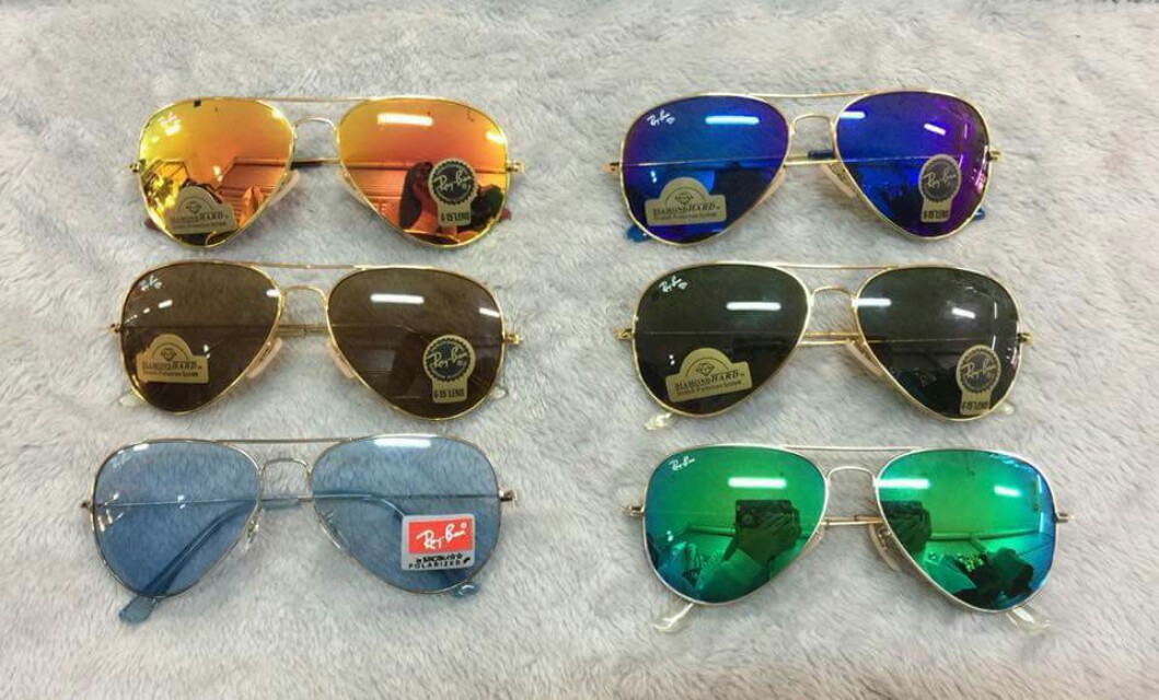 -REPLICA- New arrival metal Ray ban aviator Unisex W  UV protection W  hard  case + wiper Now grab yours 💸 550 php only ss, Men s Fashion, Accessories  on ... cd39a86ba2a3