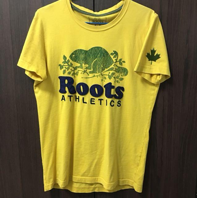 Roots 大Logo上衣