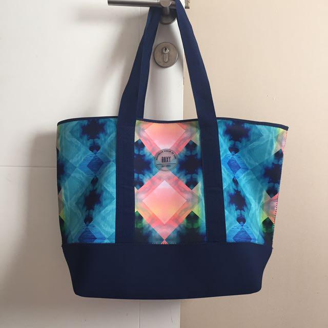 Roxy beach bag