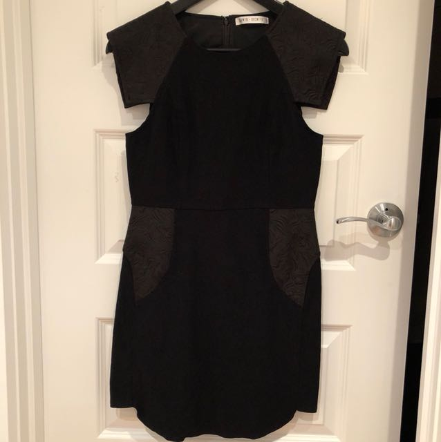 Saints Secrets Black Dress