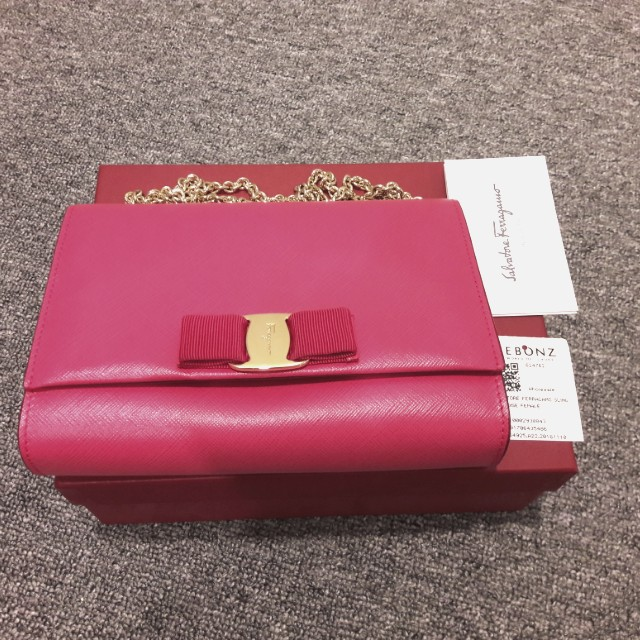 SALE Salvatore Ferragamo Miss Vara Sling Bag