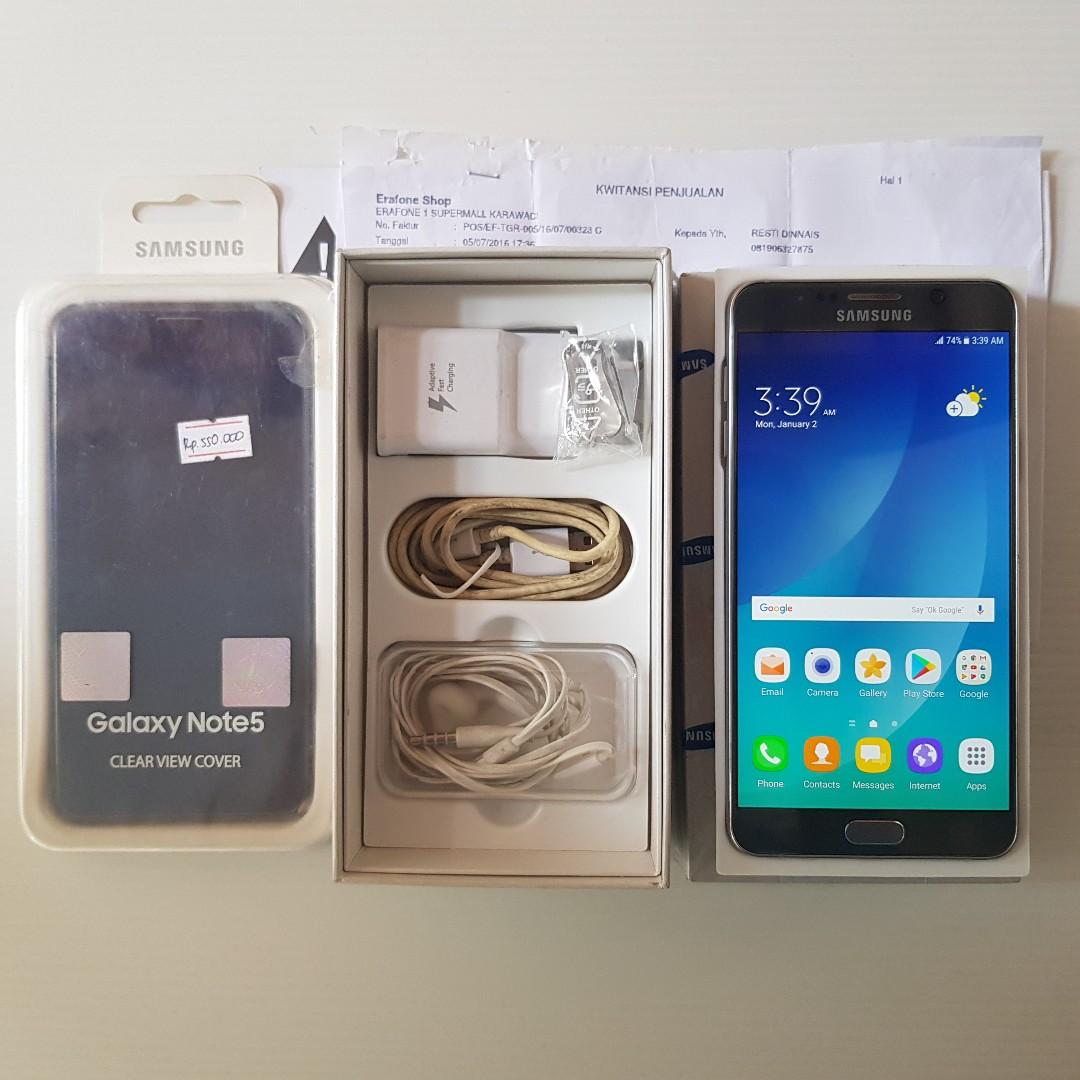 Samsung Note 5 64gb SEIN