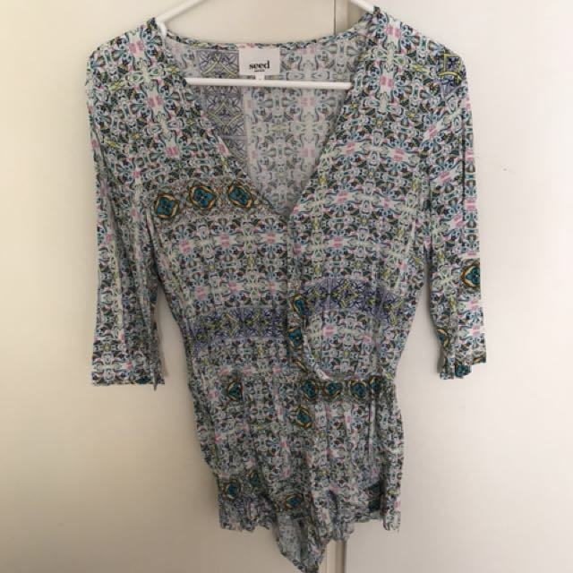 Seed Playsuit Size 6