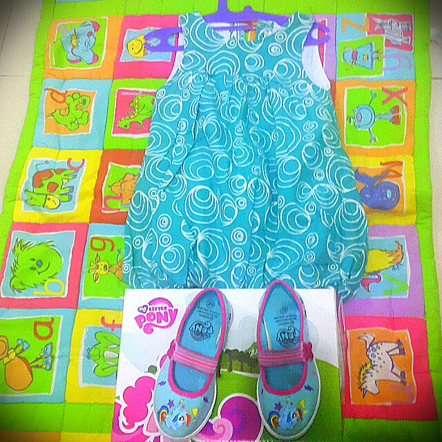 Sepatu little pony n Batik dress