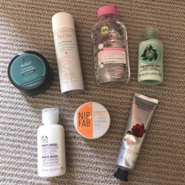 Skincare Bundle, most NEW
