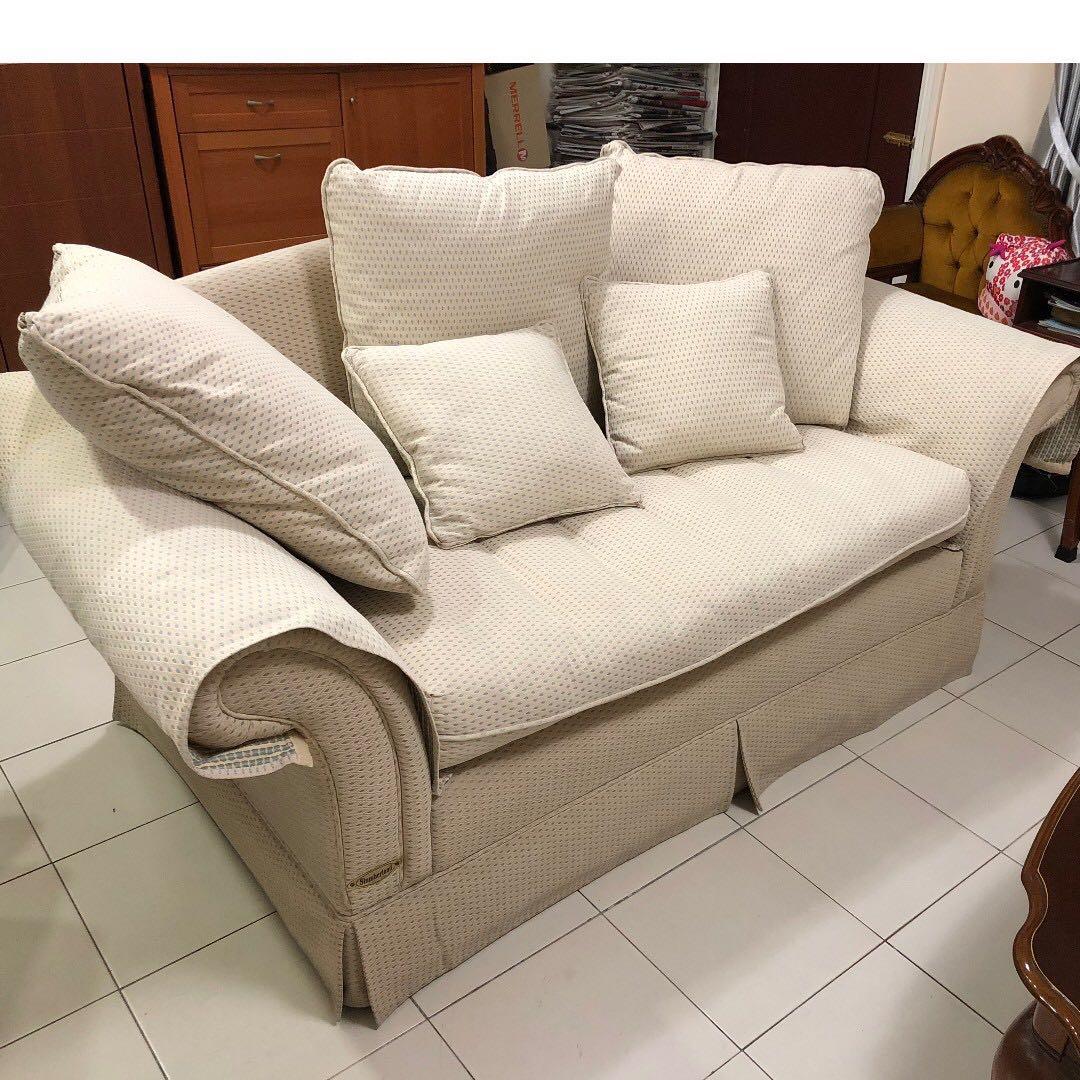 Slumberland Sofa 2 Seater European Fabric Furniture Sofas On
