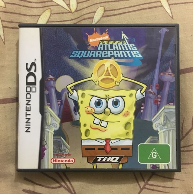 Spongebob Atlantis Squarepantis Game