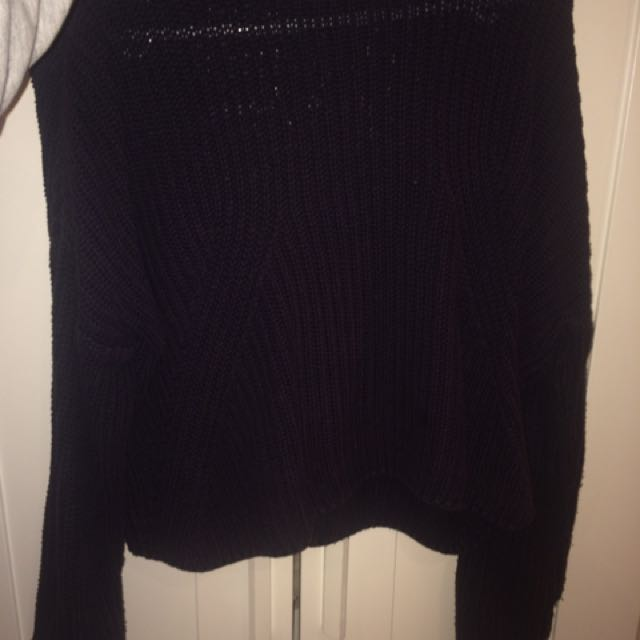 Sportsgirl Woman's Cable Knit Highneck Jumper