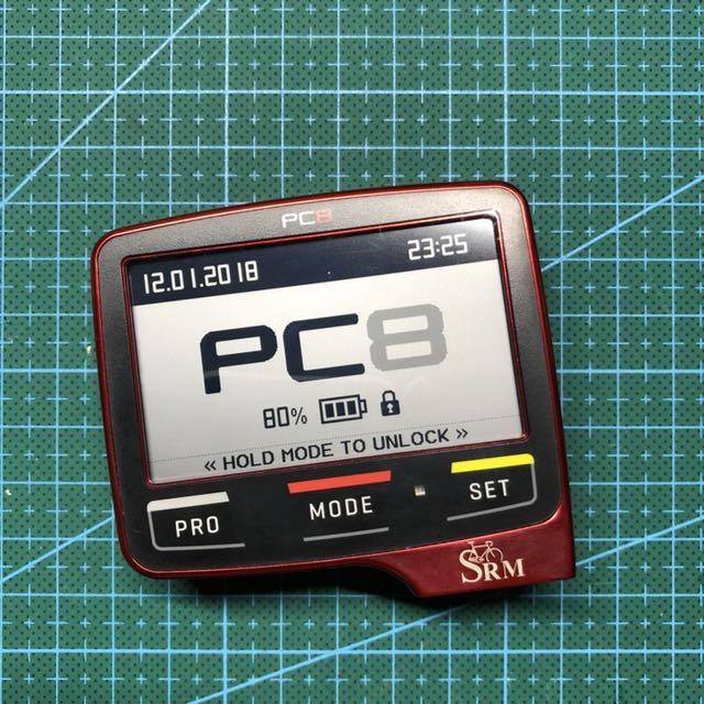 SRM PC8 Cycling Head Unit