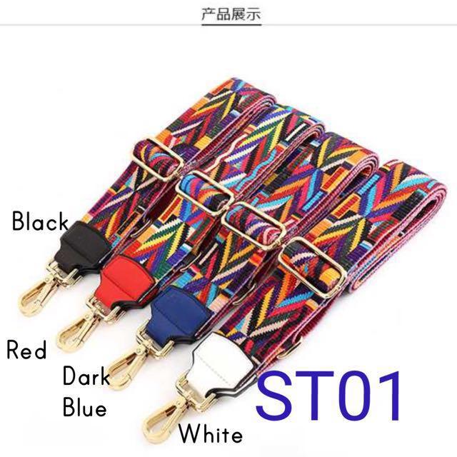 ST01 Stylish Geometric Replacement DIY Strap / Belt
