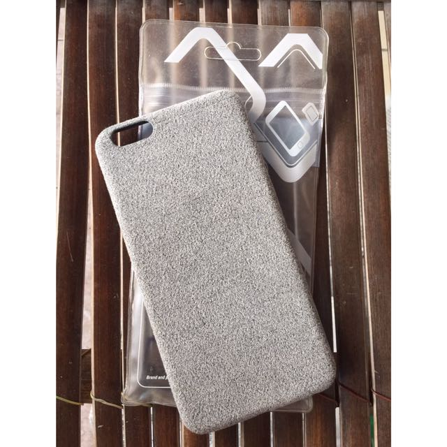 Suede case iphone 6+