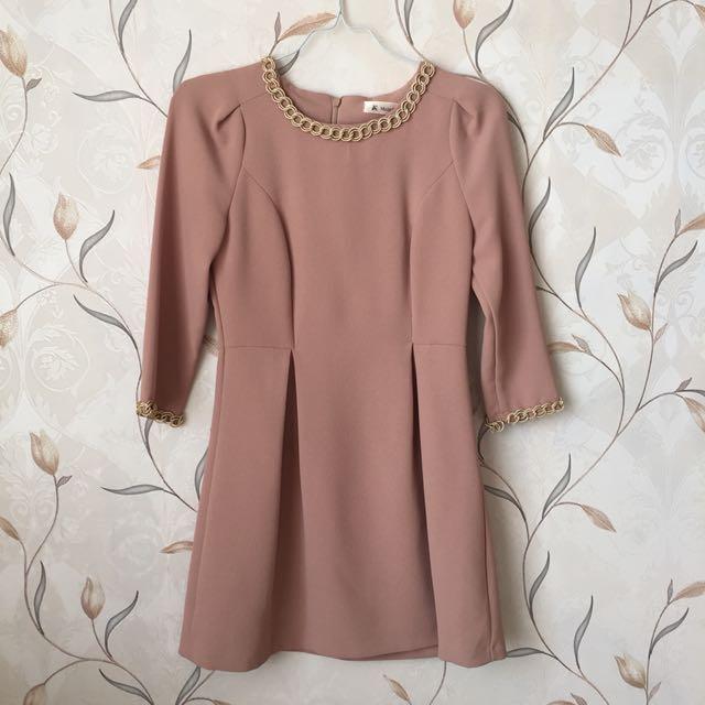 Sweet Dusty Pink Dress