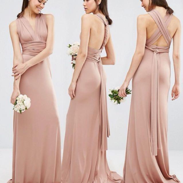 d322ce4c39 TFNC Multi way formal maxi dress