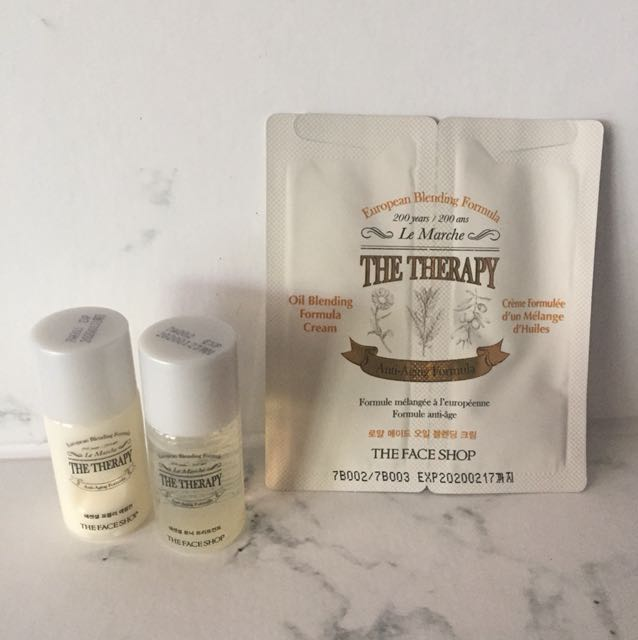 The Face Shop - Theraphy Set